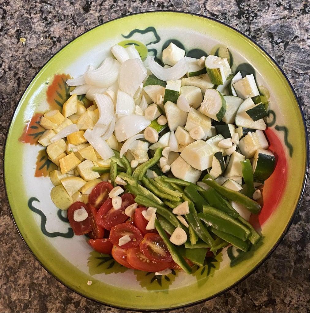 Prepare Other Vegetables: