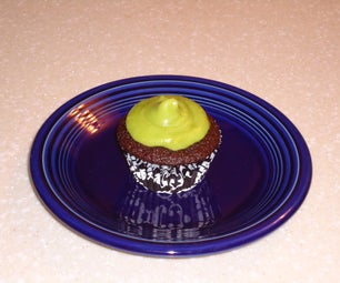 Ghirardelli Chocolate Cupcakes With Buttercream Avocado Icing
