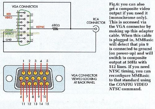 Vga Breakout Cable. : 7 Steps - Instructables | Wiring Schamitic Vga To Rca Pinout Diagram |  | Instructables
