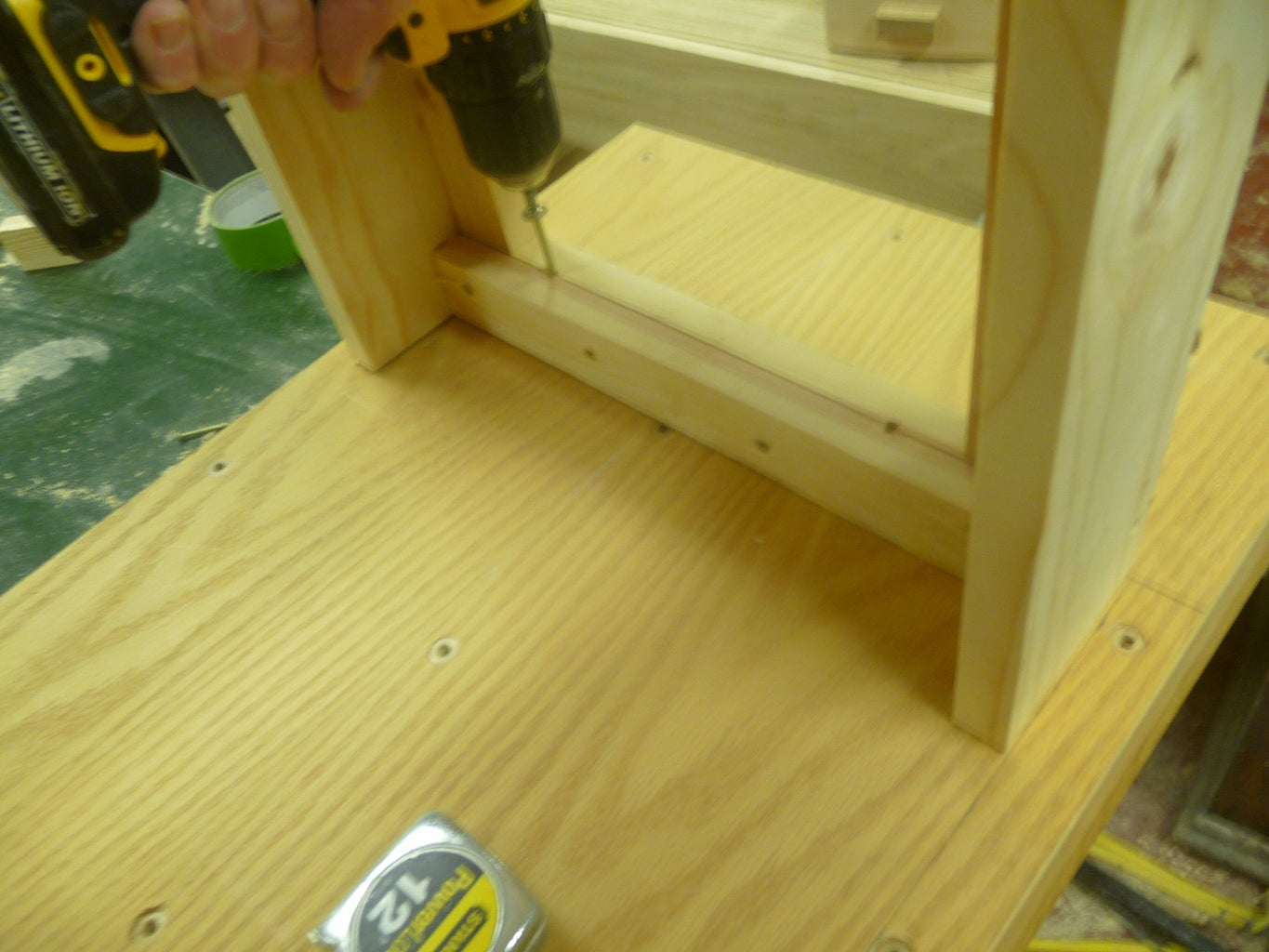Attach Base to Bench Top