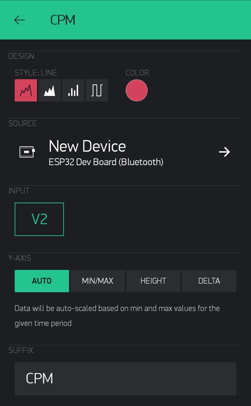 Setup Blynk App