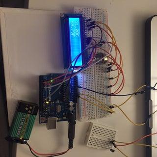 Arduino Uno: Temperature Sensor With Display