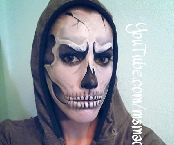 Skull Makeup Transformation! AGAIN!