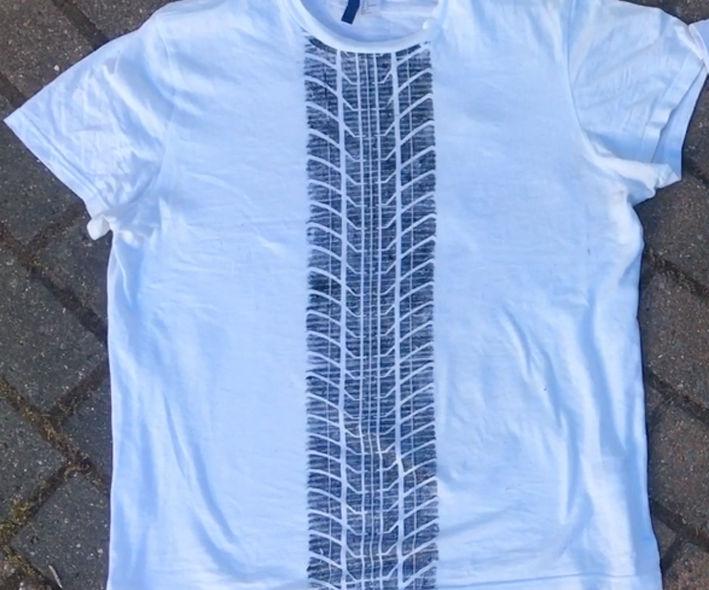 Tire Track T-shirts