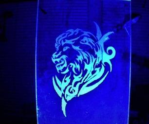 DIY LED Glass Light