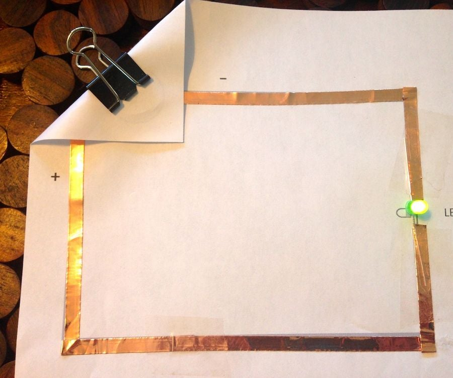 Paper Circuits : 8 Steps - Instructables