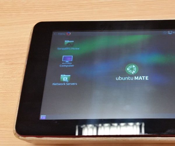 Raspberry Pi Tablet