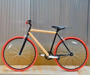 Walmart Hack Bamboo Bike