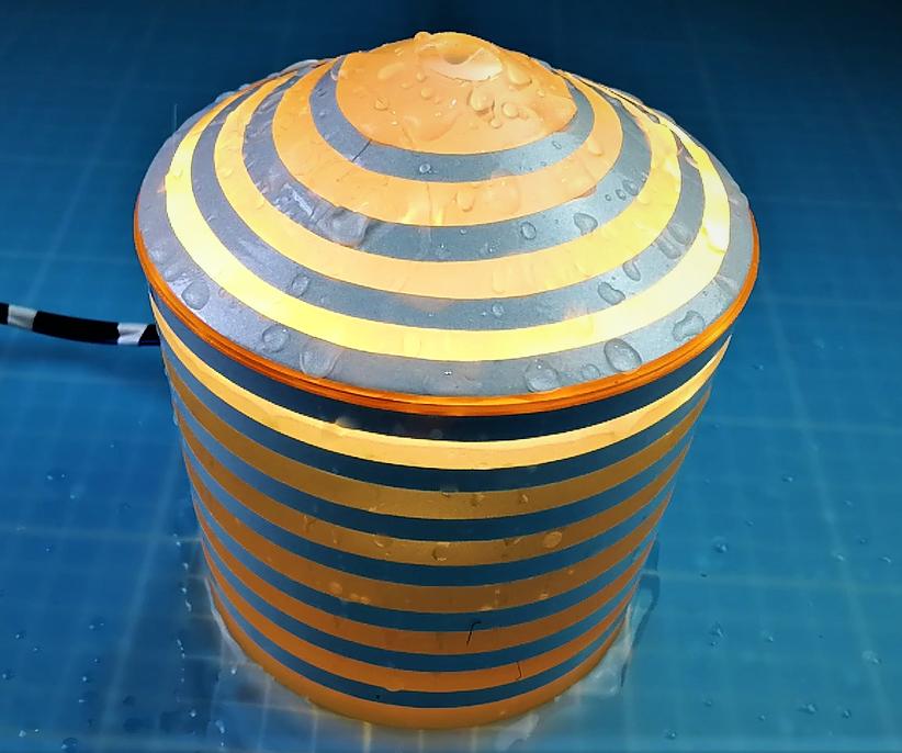 DIY Ultrasonic Humidifier Night Lamp
