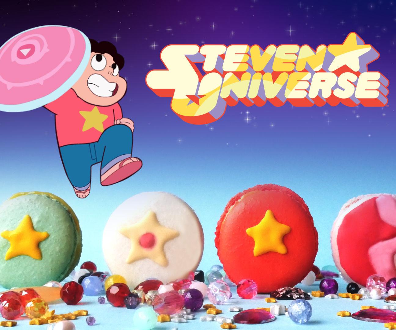 STEVEN UNIVERSE CRYSTAL GEM MACARONS