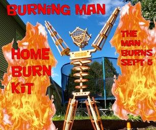 Mini Burning Man Home Burn Kit