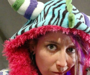 Make a Friendship Finding E-Textile Monster Hoodie With Neopixels