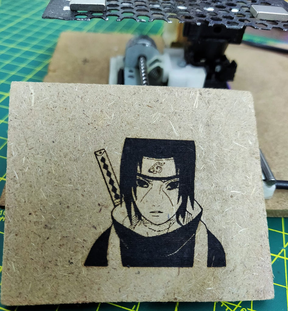 Mini CNC Laser Wood Engraver and Laser Paper Cutter.