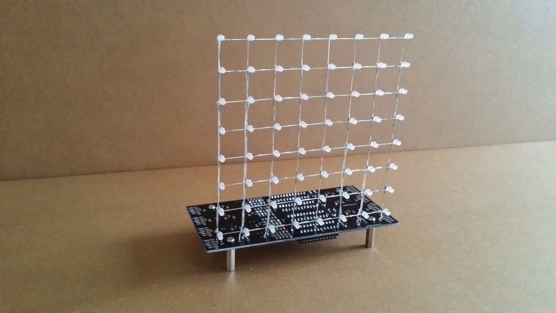 Assembly Part 2 - Complete the LED Cube With Control Circuit