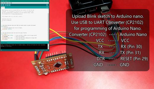 Testing of Arduino Nano