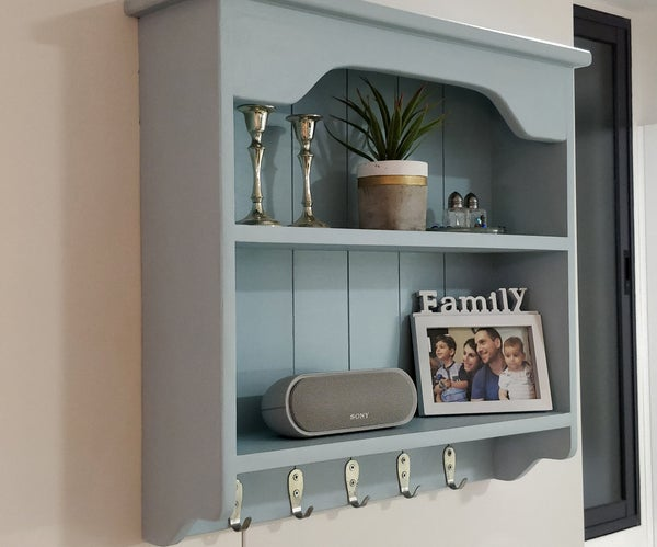 Old Drawer to New Shelves DIY