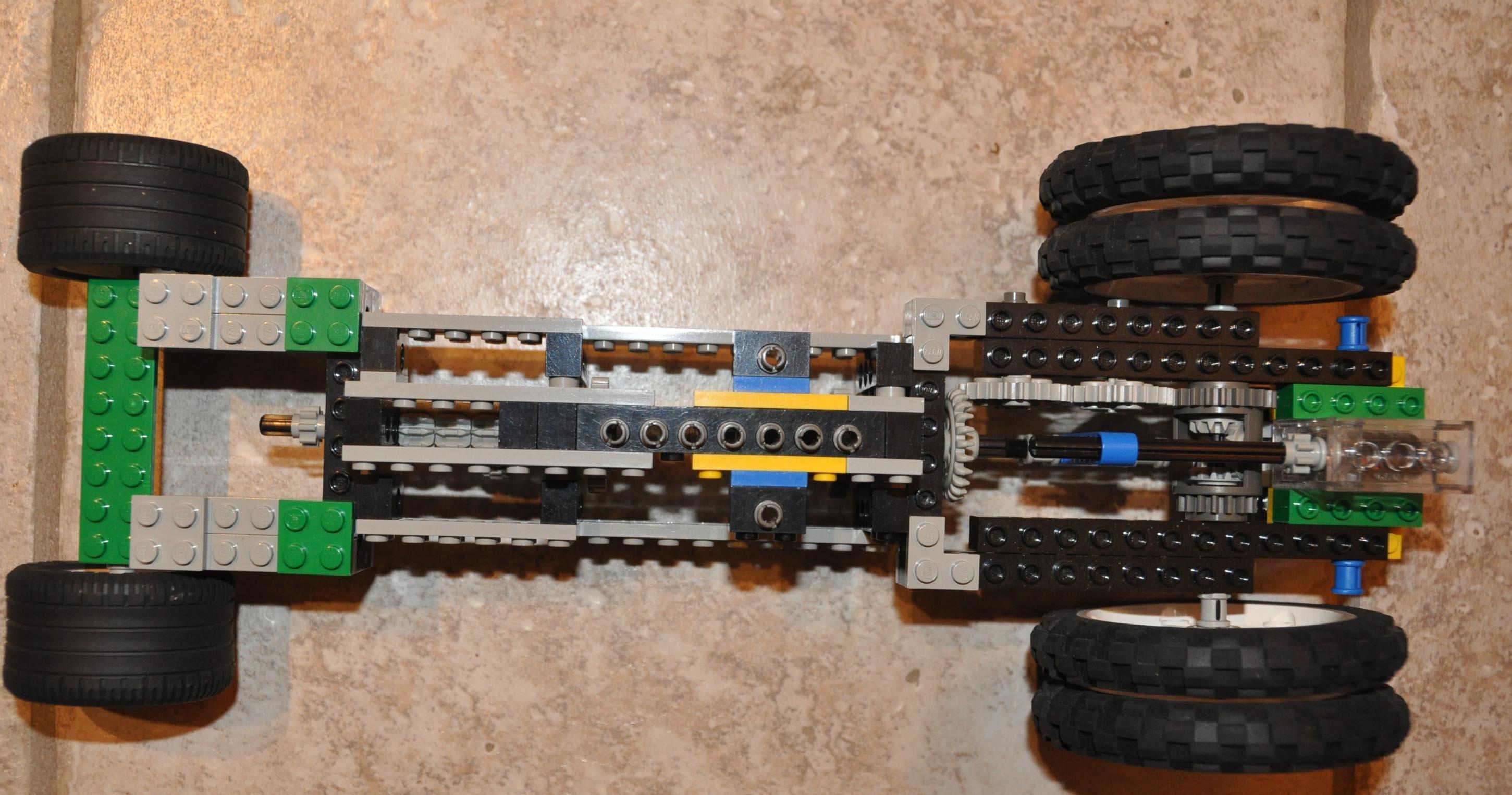 3-Speed Lego Transmission