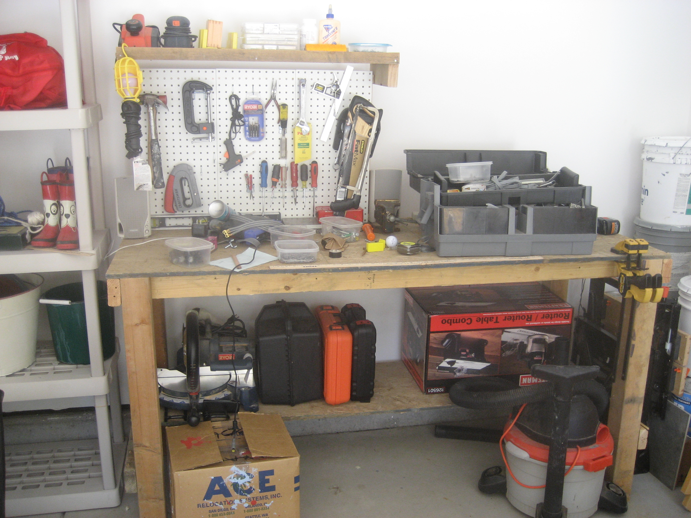 Work Bench on the Cheap