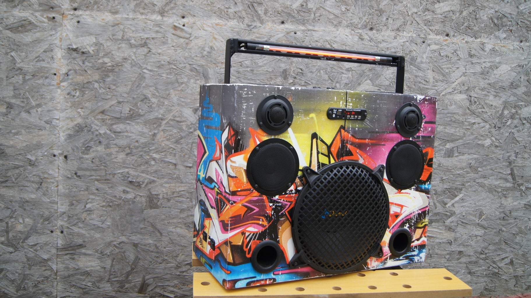 Graffiti Boombox Bluetooth Speaker