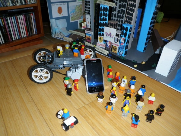 Mini Float Powered by LEGO and Android