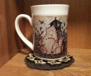 Hand Made Cup Coaster