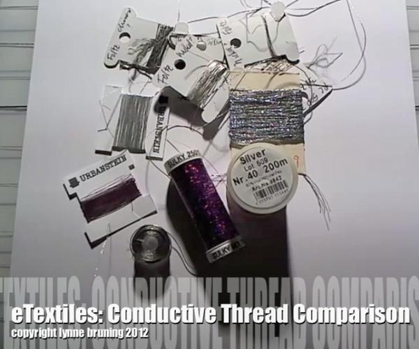 Conductive Thread Comparison V2 24 January 2012