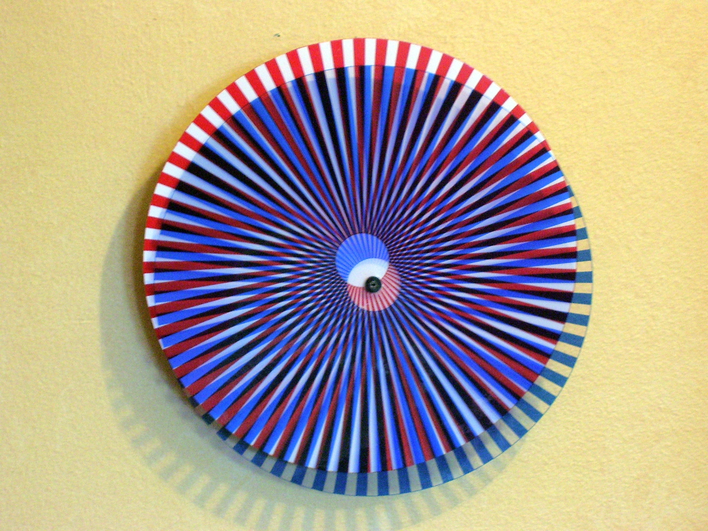 Repurposed - Clock into Kinetic Wall Art