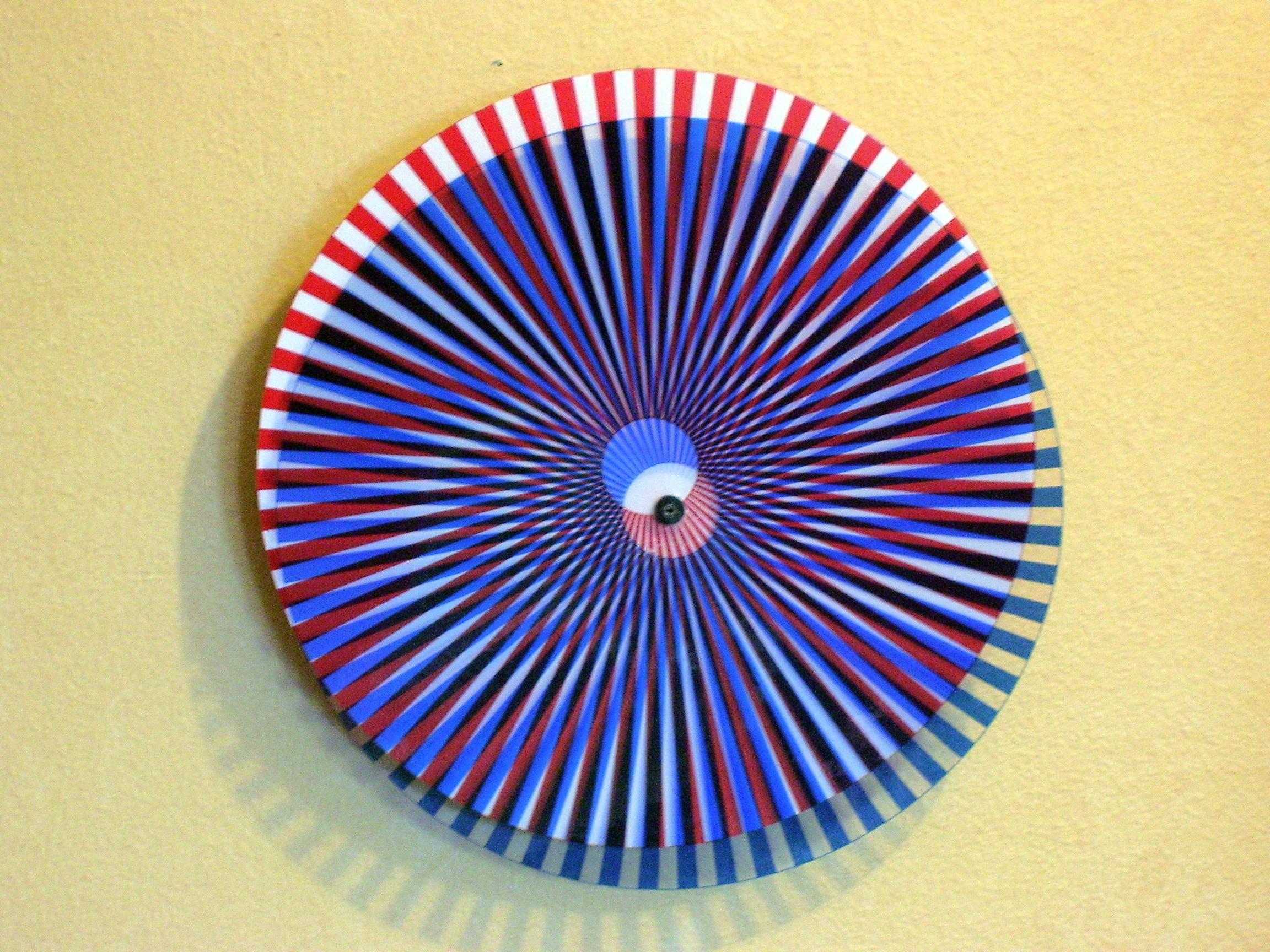 Repurposed - Clock into Kinetic Wall Art