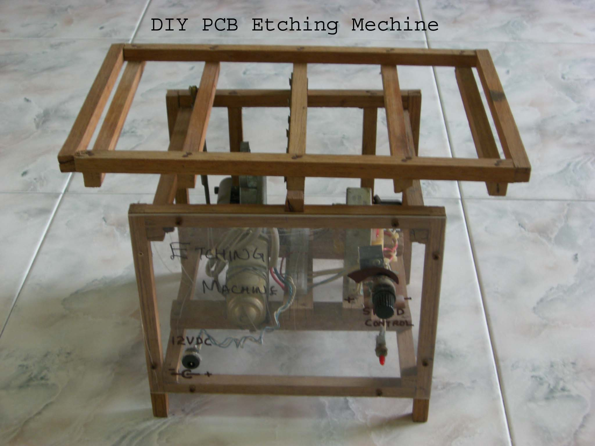 PCB Etching Machine. Save money and time....