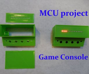 Inline 12-LED Display Game Console