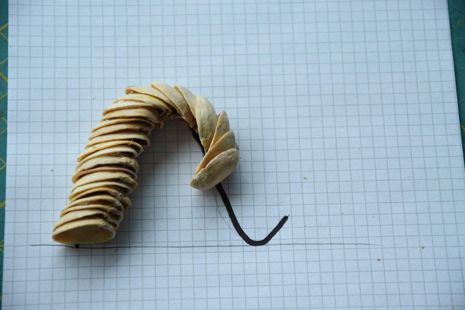 Paste Pistachios Together