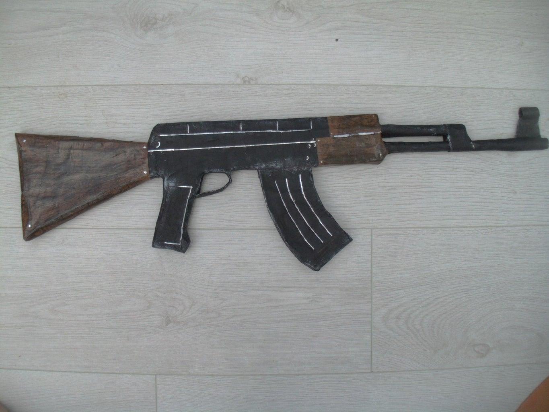 Ak-47 Paper Prop