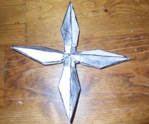 Origami Notecard Ninja Stars!