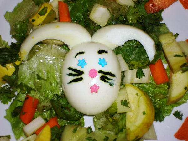 Bunny Egg  Salad