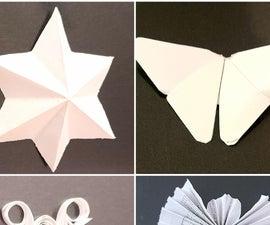 DIY Papercraft Ornaments