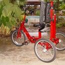 Rear Steered Adaptive Trike