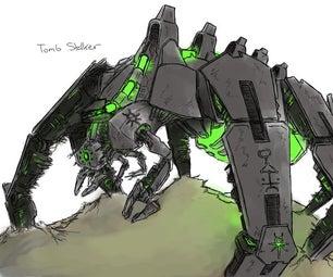 Build a Necron Tomb Stalker