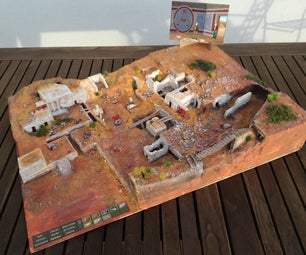 Indiana Jones - 3D Map of Excavation Site on Crete