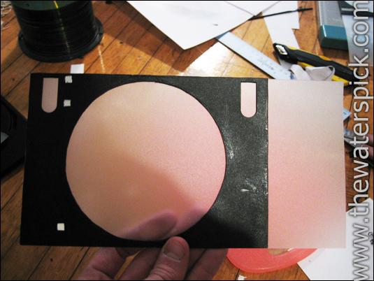 Canon Pixma CD disk tray