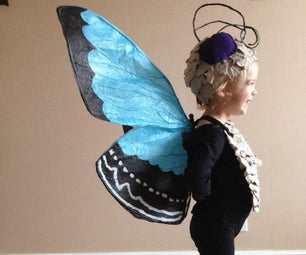 The {Paper} Butterfly Costume