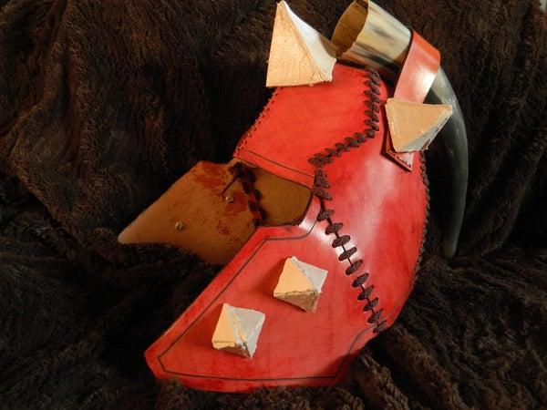 Leather Iceborn Helmet