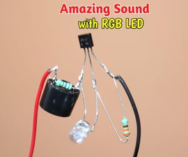 How to Make Awesome Sound Generator Project With RGB LED