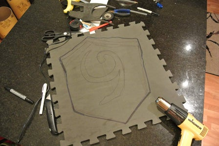 Link Deku Shield