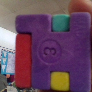 How to Make the Cube Eraser Puzzle