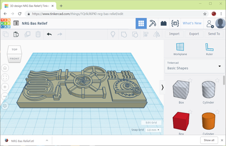 Export and 3D Print the STL File