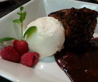 Saucy, Mocha Cake Pudding