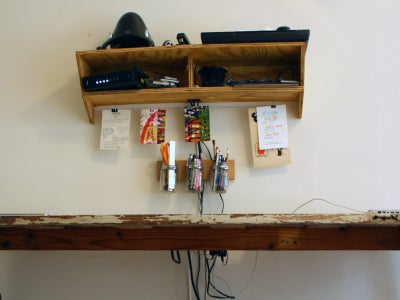 Plywood Utility Shelf