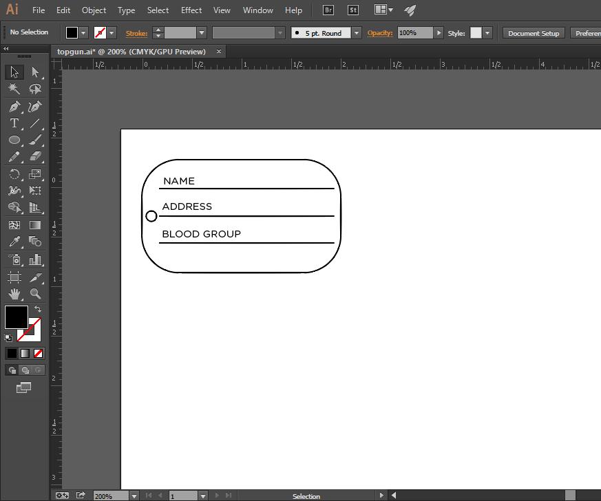 como hacer el diseño de un dog tag