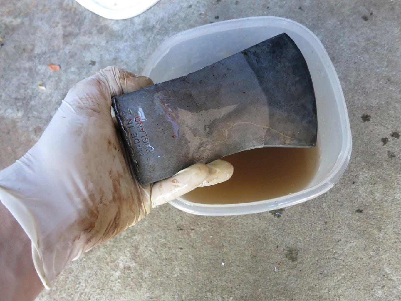Rust Removal Part 2: Steel Wool