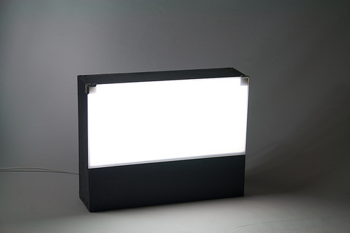 Photo lamp and lightbox, version 2